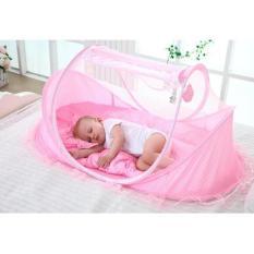 Tempat Tidur Kelambu Bayi Musik Series 3in1 dengan kasur dan bantal PROMO
