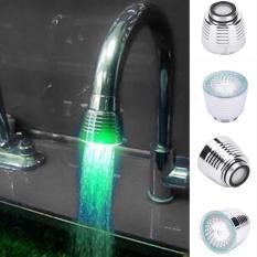 Sensor Suhu 3 Warna Dapur Air Dalam Waktu Yang Singkat dan RGB Glow Shower LED Cahaya-Intl