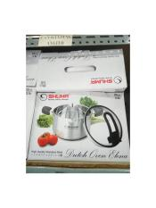 TERBARU SHUMA STAINLESS STEEL DUTCH OVEN ELENA 20CM 3LT TEBAL
