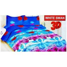 Terbaru Sprei Bonita Queen 160X200 White Swan Seprai Sprai Sepray