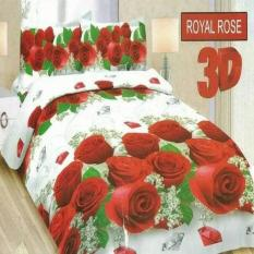 Terbaru Sprei Bonita Royal Rose No.2 Queen 160 Seprai Sprai Sepray Bed