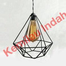 TERLARIS!!! Kap Lampu Besi / Lampu Gantung / Kap Lampu Diamond/ lampu gantung / lampu gantung led / lampu gantung ruang tamu / lampu gantung minimalis / lampu gantung kristal / lampu hias
