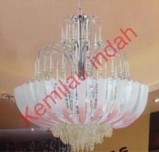 TERLARIS!!! LAMPU HIAS PLAFON GANTUNG SCH-20680-6GD BOHLAM LED FITTING E27 ANTIK/ lampu gantung / lampu gantung led / lampu gantung ruang tamu / lampu gantung minimalis / lampu gantung kristal / lampu hias
