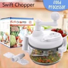 Harga Swift Chopper Manual Food Processor Food Chopper Salad Spinner Penggiling Sayur Dan Buah Buahan Asli Swift Chopper