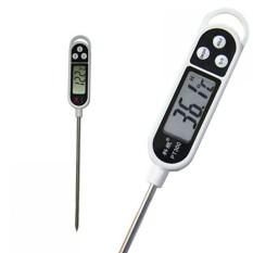 Termometer Makanan Digital Food Thermometer TP300 Alat Pengukur Suhu Makanan Minuman Akurat Tepat Layar LCD Display Celcius Fahrenheit Function Ada Fitur Reset Memory Cocok untuk Memasak Masakan Susu Daging BBQ