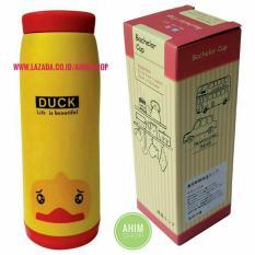 Spesifikasi Termos Botol Minum Duck Random Stainless Steel Exclusive Box Bachelor Cup Kuning Merah