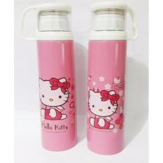 Iklan Termos Karakter Tutup Gelas Botol Stainless 500Ml Hello Kitty