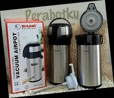 Promo Termos Pencet Airpot Vacuum Stainless Steel Shuma 3 Liter Multi