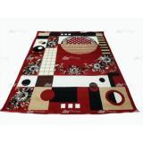 Harga Termurah Karpet Moderno Uk 160 X 210 Bordeaux 16282 Moderno Baru
