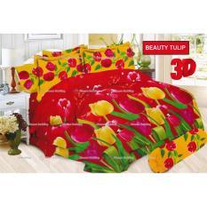 Jual Termurah Sprei Bonita Motif Beauty Tulip Queen Size 160 Branded Murah