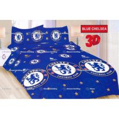 Harga Termurah Sprei Bonita Motif Blue Chelsea 180 Bonita Original