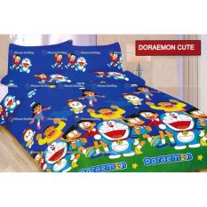 Harga Termurah Sprei Bonita Motif Doraemon Cute Queen Size 160 Fullset Murah