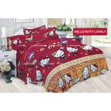 Review Toko Termurah Sprei Bonita Motif Hello Kitty Lovely King Size 180 Online
