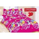 Termurah Sprei Bonita Motif Little Pony Single Size 120 Bonita Diskon 50
