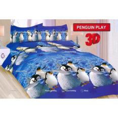 TERMURAH Sprei Bonita motif Pinguin Play Single Size 120