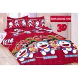 Spesifikasi Termurah Sprei Bonita Tipe Doraemon Red King Size 180 Dan Harga