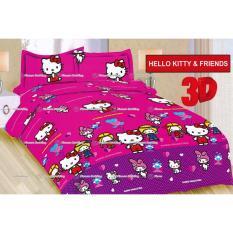 TERMURAH Sprei Bonita tipe Helo kitty and Friends King Size 180
