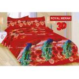 Promo Termurah Sprei Bonita Tipe Royal Merak Queen Size 160 Bonita Terbaru