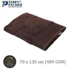 Harga Terry Palmer Handuk Eternal Bath Towel 70 X 135 Cm 480 Gsm Cokelat Dan Spesifikasinya