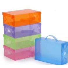 BonBon Kotak Sepatu Mika Plastik Transparan 5 pcsIDR25000. Rp 33.000