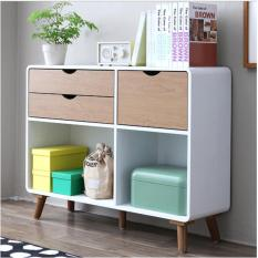 Harga The Olive House Helsinki Low 5 Drawer With Door Baru Murah
