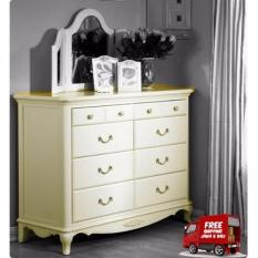 Harga The Olive House Wide Drawer Queen Anne New