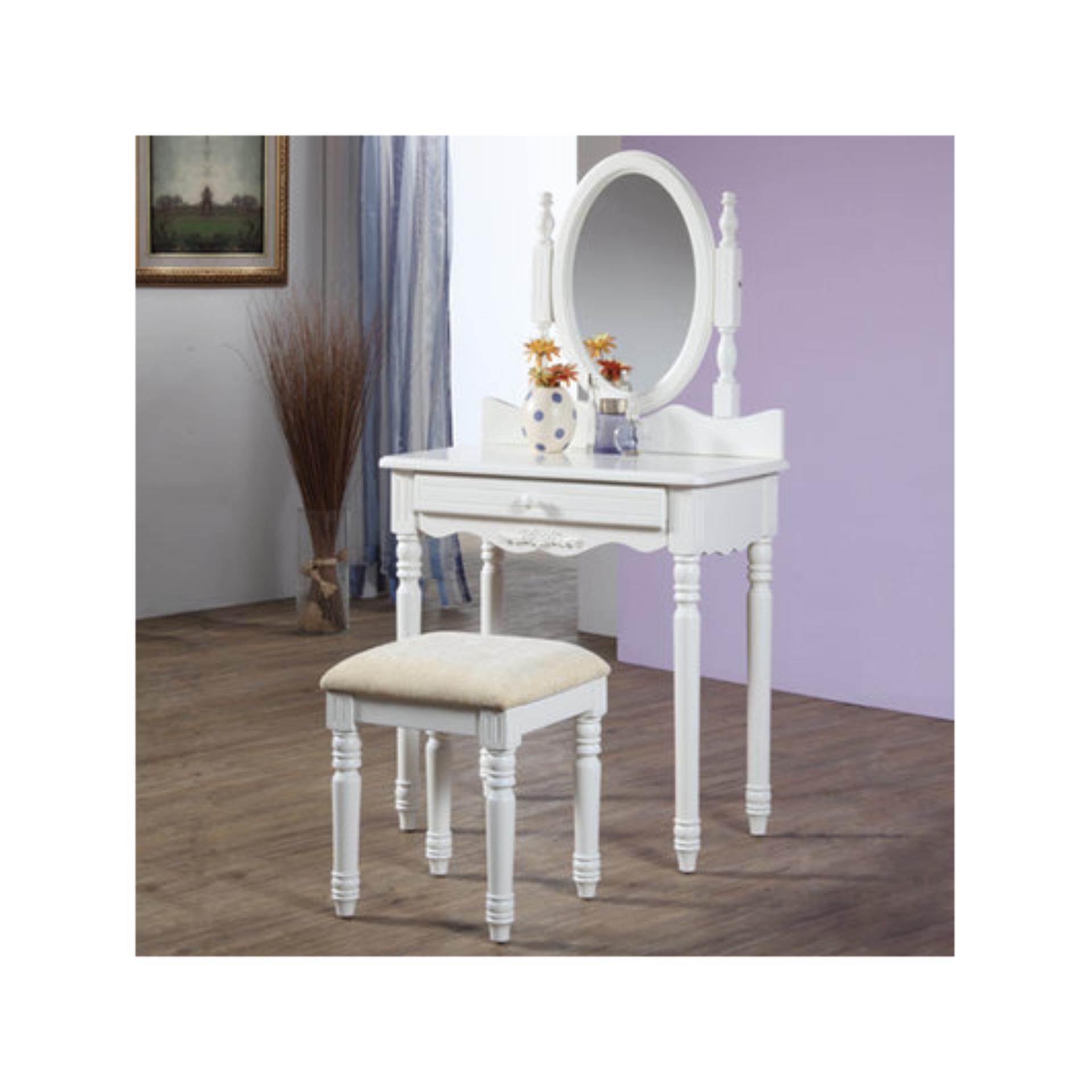 The Olive House - Set Meja Rias Lucia ( plus stool )