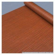 Perekat Waterproof furniture Renovasi Kayu Kertas Wallpaper Wallpaper dari Asrama Bedroom Wardrobe Door Stiker-Intl