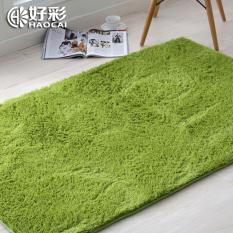 Sutra Wol Karpet Tebal Ruang Tamu Ruang Tidur Mat Mat Bed Selimut Home Dec-Intl