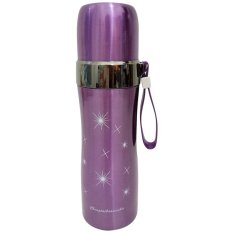 Beli Thermos Vacuum Flask 500Ml Stainless Steel Metalik Bpa Free Ungu Diva Davi