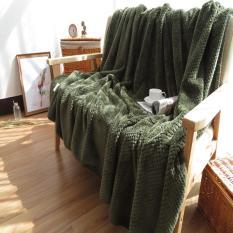 Menebal Flanel Selimut Mudah Dicuci Selimut Kecil untuk Sofa/Tempat Tidur/Mobil Cobertores Portable Nap Cobertor AC Bed Cover Melempar Selimut 180X200 Cm-Intl