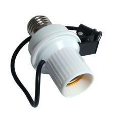 Tigaduasatu Fitting Sensor Lampu Cahaya Otomatis - Putih