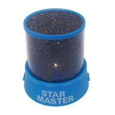 Tigaduasatu Lampu Tidur Led Proyektor Star Master - Biru
