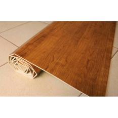 Diskon Tikar Kayu Plywood Karpet Coklat Muda 182X245 Kalimantan