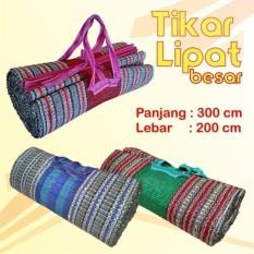 Tikar Lipat Tiker Karpet Praktis Tikar Gunung Tikar Gulung ukuran 2x3 meter