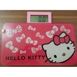 Jual Timbangan Badan Mini Hello Kitty Persegi Pink Indobest Grosir