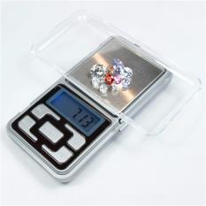 Timbangan Digital Mini Portable Untuk Masak Dapur Perhiasan Emas Berlian Diamond Batu Akik Pocket Scale Mh 300 Original