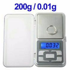 Toko Timbangan Digital Pocket Scale 200 01 Gram Timbangan Emas Silver Di Dki Jakarta