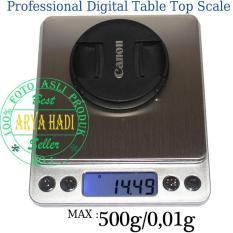 Timbangan Emas Digital SILVER 500g - 0,01g / Professional Digital Scale / Timbangan Barang Berharga / Timbangan Obat Akurasi Tinggi