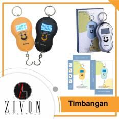 Promo Timbangan Gantung Digital Scale Smile Portable Elektronik 50 Kg Zivon Diskon 50