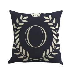 Katalog Tinpsy Fashion Dekorasi Rumah Cinta Series Cotton Linen Square Cushion Cover Dengan Cabang Zaitun Dicetak 45 45 Cm Intl Louis Will Terbaru