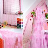 Tirai Benang Motif Love Halus Fashion Dekorasi Warna - Pink | Lazada Indonesia