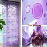 Harga Tirai Benang Motif Polkadot Purple Tirai Berbentuk Juntaian Benang Gorden Lokal