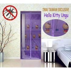 Jual Tirai Pintu Magnet Exclusive Motif Hello Kity Murah Di Indonesia