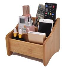 Kotak Tisu Kreatif Latar Belakang Dinding TV Teh Restoran Kosmetik Kotak Penyimpanan Kantor Khusus Memompa Karton 19*16*16 Cm-Intl