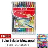 Ongkos Kirim Titi Krayon 24 Putar Twist Crayon Di Dki Jakarta