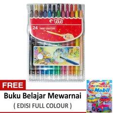 Dapatkan Segera Titi Krayon 24 Putar Twist Crayon