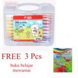Diskon Titi Krayon 36 Oil Pastels Crayon Free 3 Pcs Buku Belajar Mewarnai Titi Dki Jakarta
