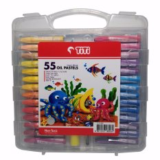 Jual Titi Oil Pastels Krayon 55 Warna Branded Original