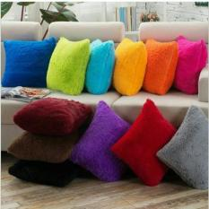 TjinCollection-Bantal Bulu Rasfur Lembut 40x40CM [Ready 18 Warna]